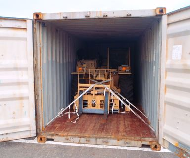 LOADING INTO CONTAINER